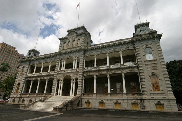 イオラニ宮殿 Iolani Palace