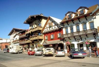 南ドイツ風の街 レベンワース