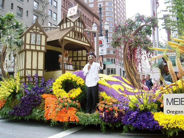 バラの街 ポートランドのローズフェスティバル