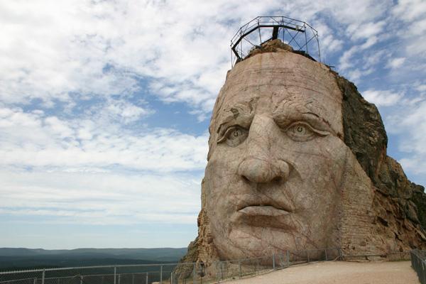 クレイジー・ホース記念碑 Crazy Horse Memorial