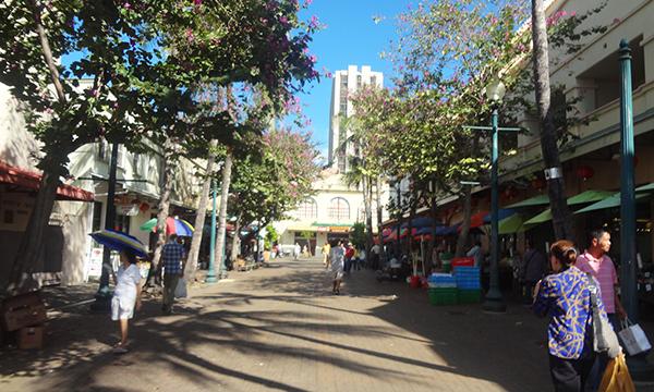 オアフ島 レンタカーの旅 2015 チャイナタウン