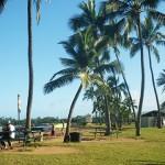 オアフ島 レンタカーの旅 2015 ノースショア ハレイワ・アリイ・ビーチ