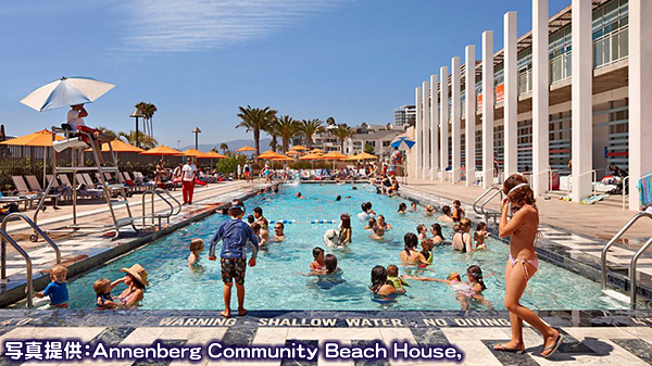 アネンバーグ・コミュニティ・ビーチハウス Annenberg community Beach House