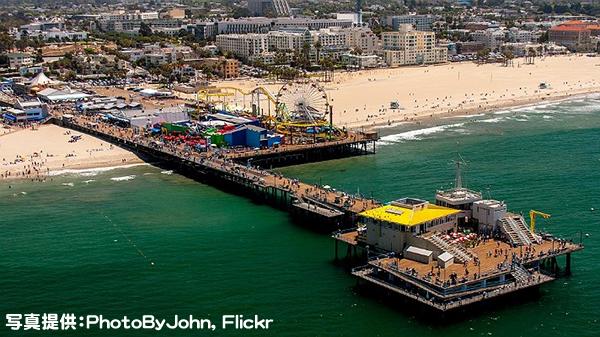 サンタモニカ ピア Santa Monica Pier