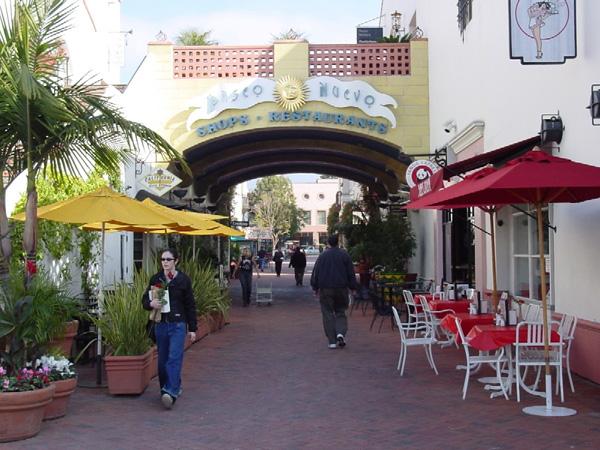サンタバーバラの街
