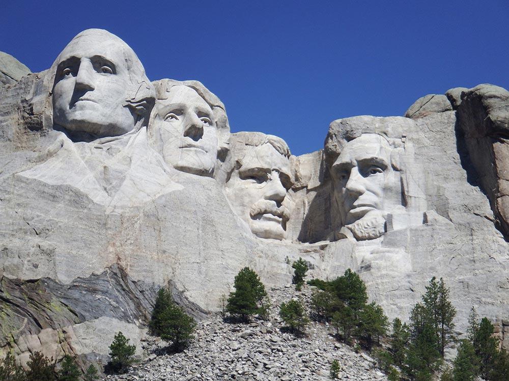マウントラシュモア国立モニュメント Mount Rushmore NM