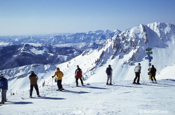 近郊のスキーリゾート 地上最高の雪