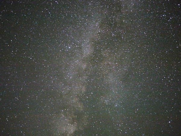 モアブの宿と天の川