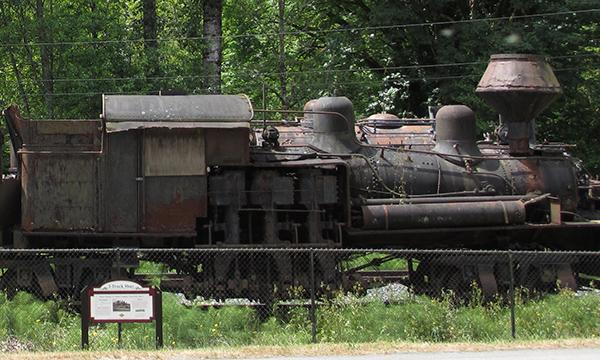 US-OPEN観戦とシアトル観光 – 森林鉄道 –