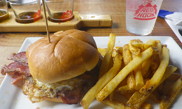 US-OPEN観戦とシアトル観光 – ウッディンビルで昼食 –