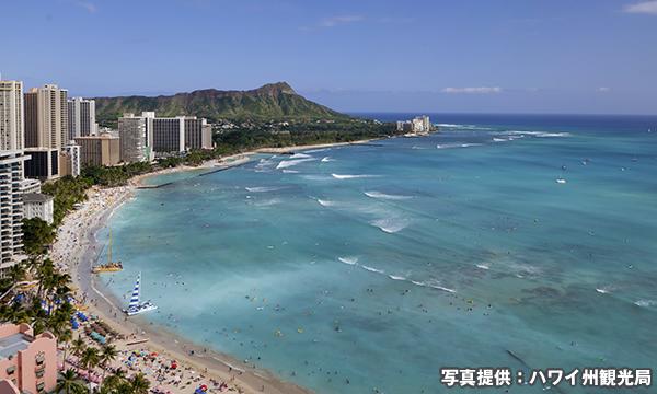 ワイキキビーチ Waikiki Beach