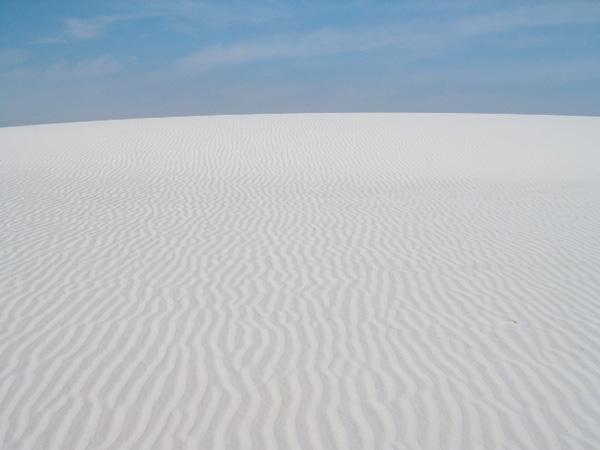 ホワイトサンズ国立モニュメント<br />White Sands National Monument