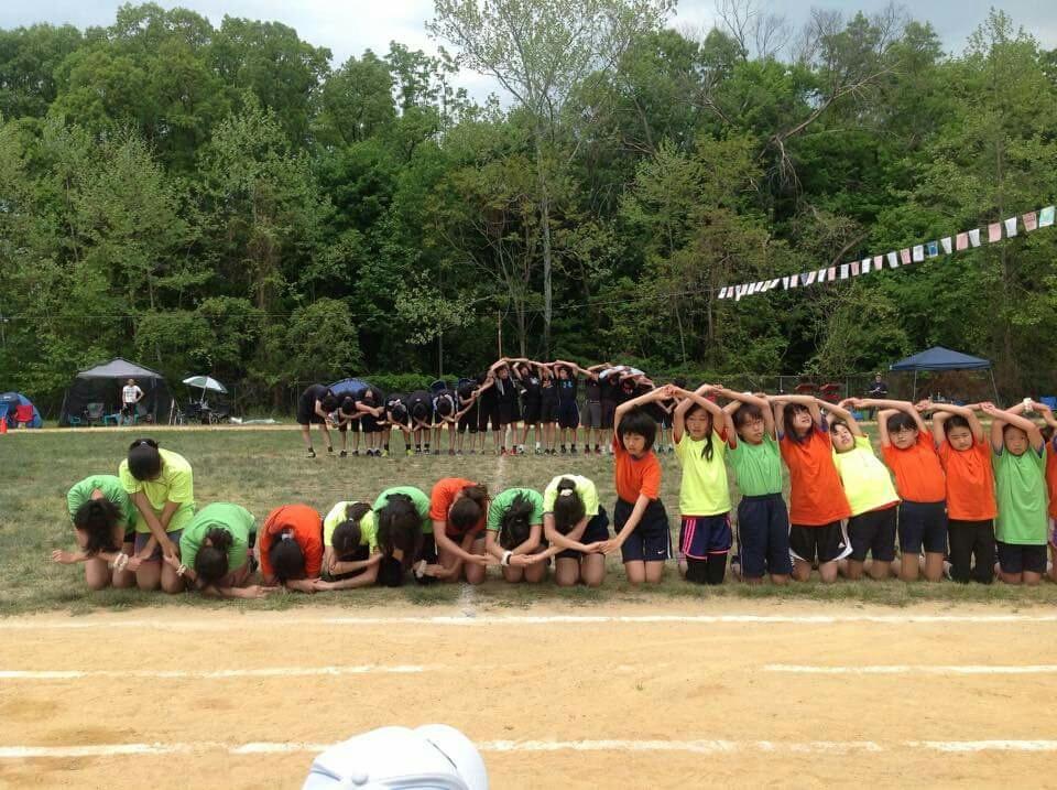 ケン、NJ校最後の運動会。がんばりました